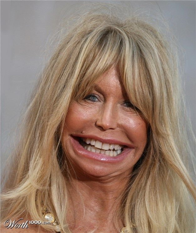 Pinocchio 23: Celeb Caricatures ~ Goldie Hawn - Worth1000 Contests