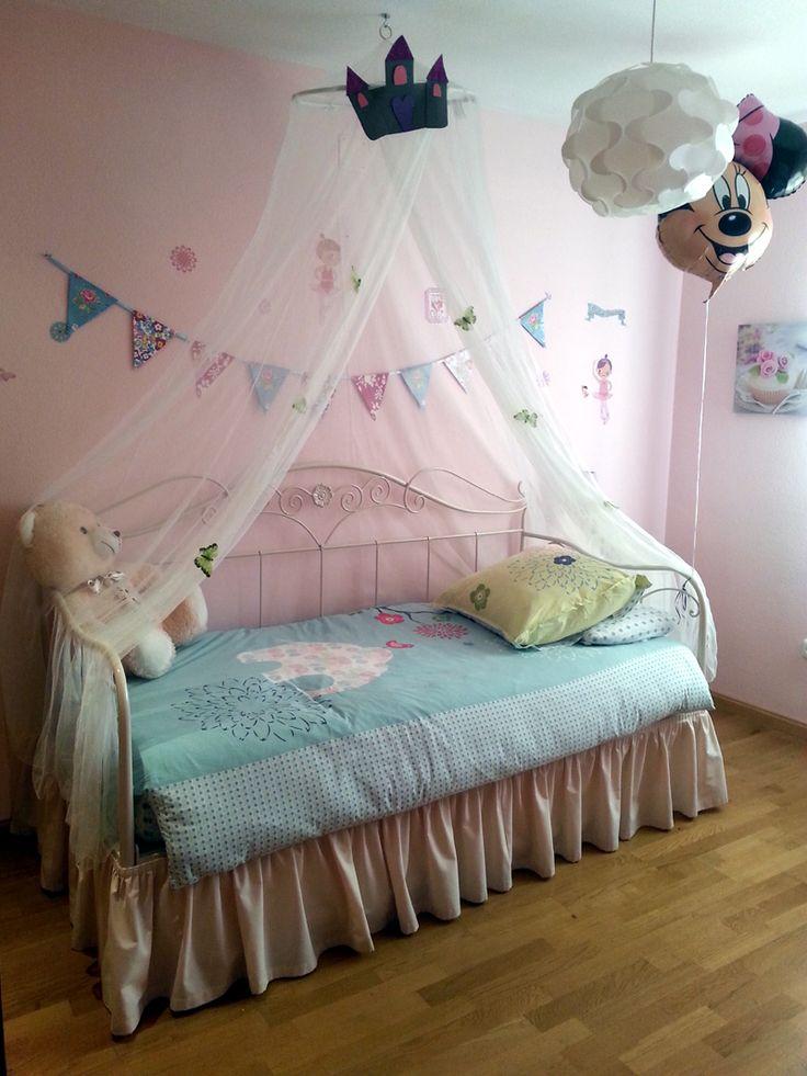 Las 25 mejores ideas sobre camas de princesa en pinterest y m s cama de castillo literas para - Dosel para cama nina ...