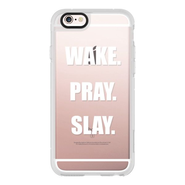 iPhone 6 Plus/6/5/5s/5c Case - Beyonce- Wake- Pray- Slay- ($40) ❤ liked on Polyvore featuring accessories, tech accessories, iphone case, apple iphone cases, iphone hard case, iphone cases and iphone cover case