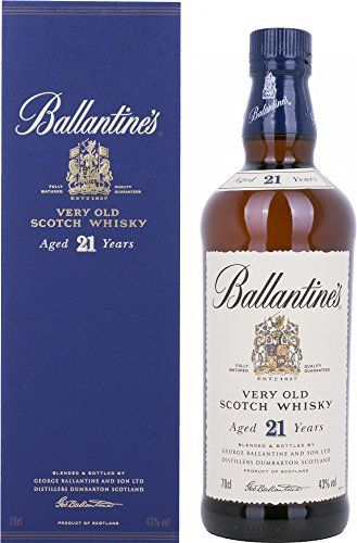 Ballantine's 21 Years Old Very Old Scotch Whisky avec emballage cadeau (1 x 0,7 L): 21 Year Old Blended Whisky Ballantine