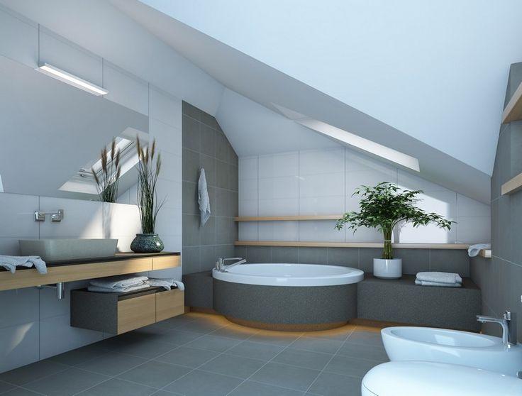 Dachschrgebadezimmer. badezimmer dachschräge weiß badewanne ...