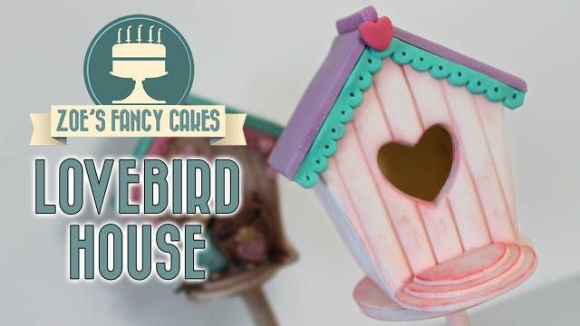 Lovebird house cake topper tutorial :) Valentines day collaboration if you like the videos, please subscribe for more content ( it's free! ) and be sure to share the videos with your friends.