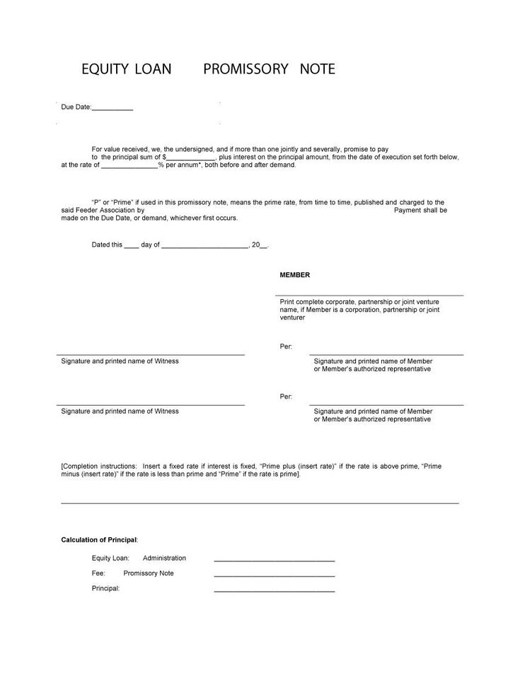 Download Promissory Note Template 29 Blank Check In 2019