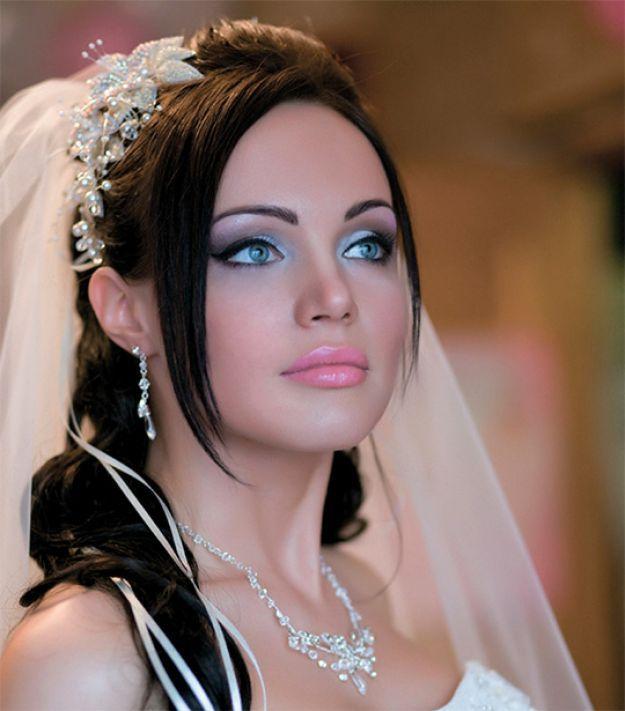 Бесподобный свадебный макияж ::: onelady.ru ::: #makeup #eyes #eyemakeup