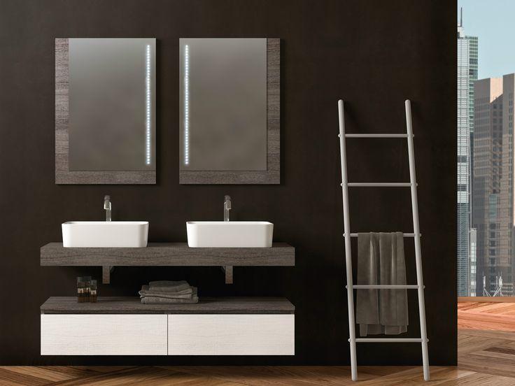 17 migliori idee su doppio lavabo da bagno su pinterest - Lavabo doppio bagno ...