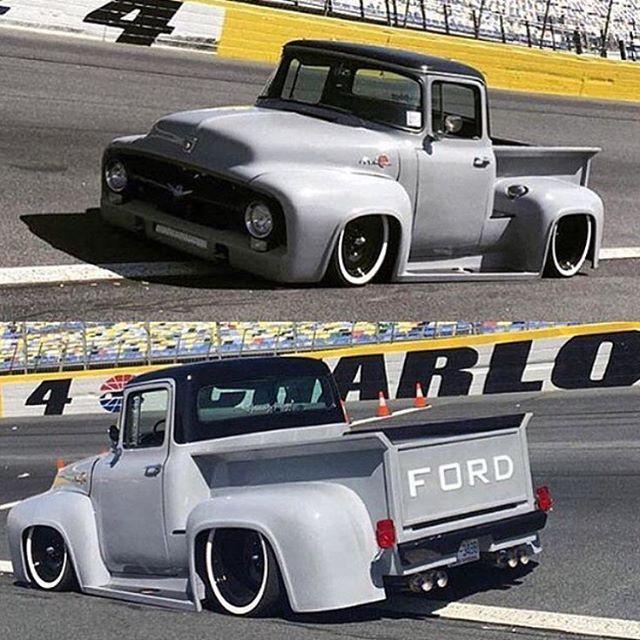 1956 Ford F100 & 265 best Trucks images on Pinterest | Lifted trucks Toyota trucks ... markmcfarlin.com