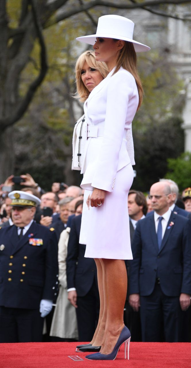 Melania Trumps Most Stylish First Lady Moments