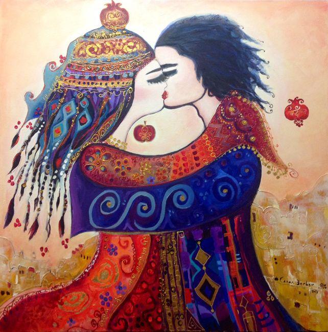 Canan Berber'in Sevgililer Sergisi