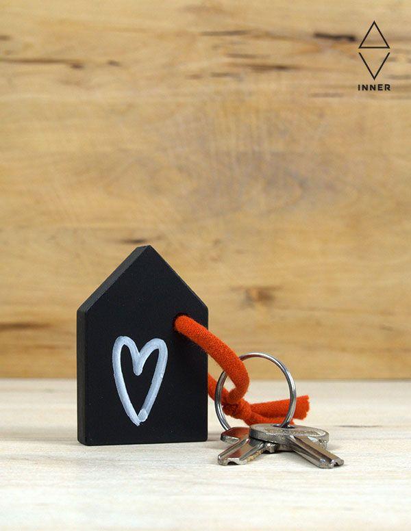 blackboard key ring