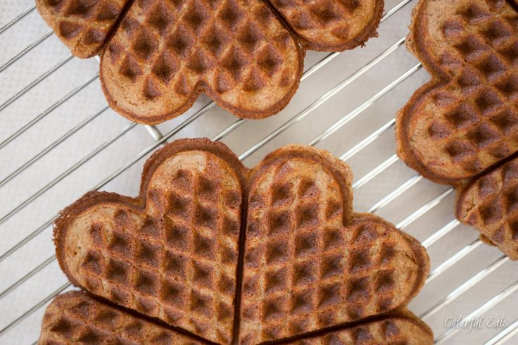 Grain-Free & Paleo Pumpkin Waffles with Salted Maple Butter by Colorful Eats