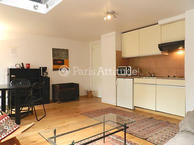 Rent Duplex in Paris 40 m² Bibliotheque Francois Mitterand 10464