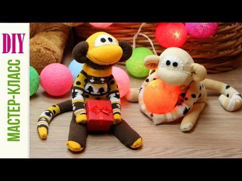 Как сделать Обезьянку своими руками / DIY Monkey of Socks