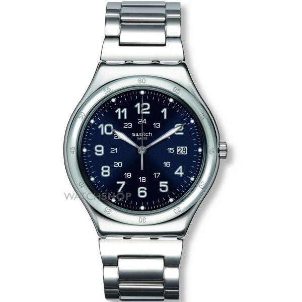 Mens Swatch Blue Boat Watch YWS420G