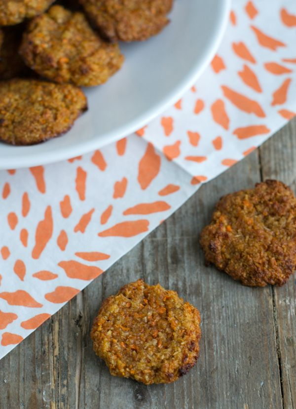 Carrot Cake Cookies | Healthy Cookies | via BrendaKookt.nl