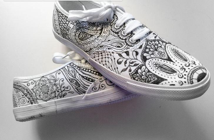 sharpie shoes