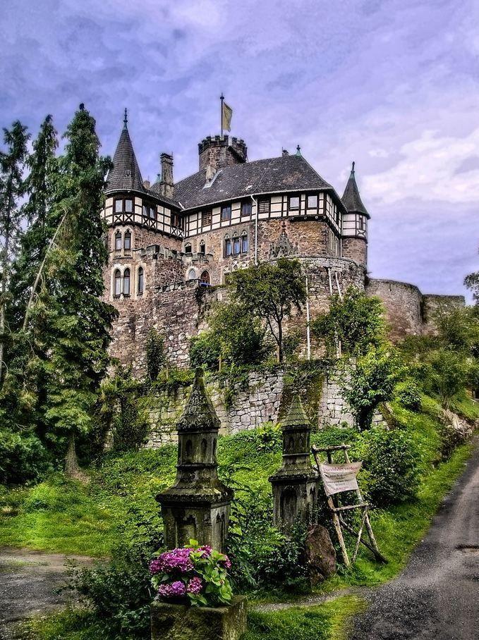 Enchanting Photos — Berlepsch Castle, Hesse, Germany photo via...