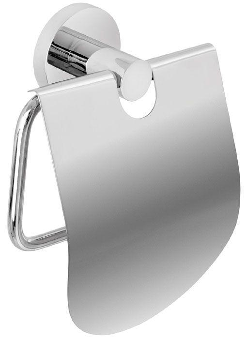Der formschöne Rollenhalter mit Deckel aus der Serie EOS besticht durch seine schlichte Eleganz. Der harmonisch runde Papierrollenhalter aus hochwertigen verchromten Messing ist ein echter Blickfang im WC. Die Befestigung erfolgt entweder mit Schrauben oder mit einem speziellen 2-Komponenten-Kleber.