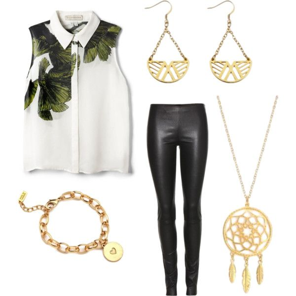 Night out with Foxy by brittanypileggi on Polyvore featuring Elle Sasson and The Row