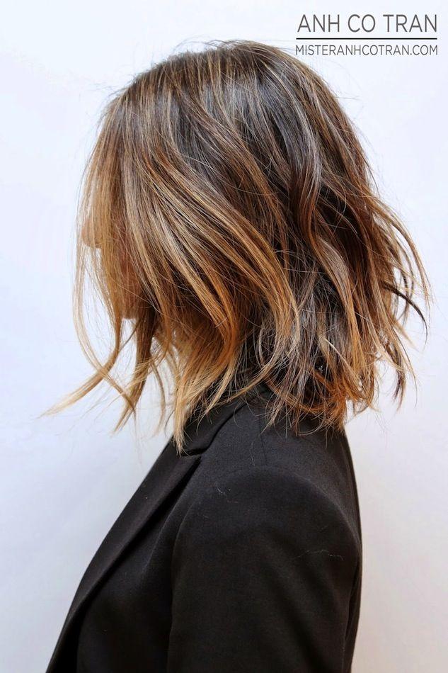 Hair Inspiration: Long Subtle Ombré Bob (via Bloglovin.com )