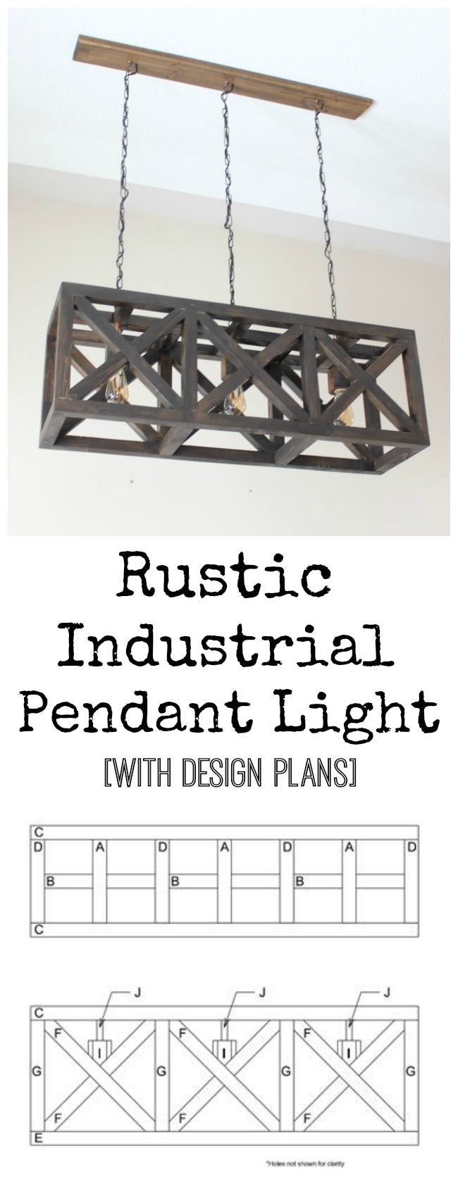 Industrial Pendant Light LightsRustic IndustrialDiy