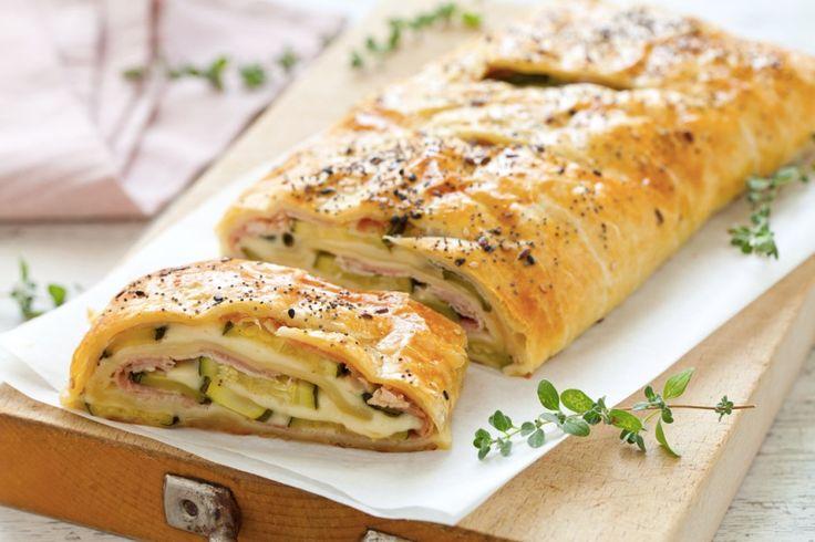 Rotolo di zucchine e prosciutto cotto ricetta