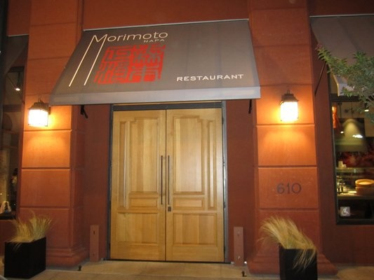 Morimoto Napa. Book our Dinner's On Us Package and receive a $100 dining credit.