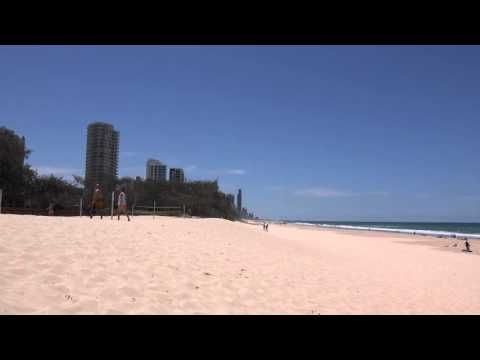 Broardbeach Beach on the Gold Coast Queensland Australia