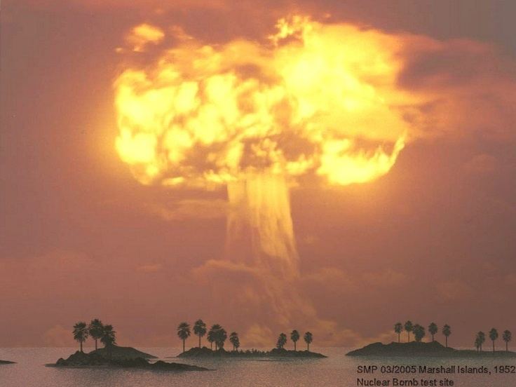 an introduction to the history of atomic bombs Describe the chemical reaction which fuels an atomic bomb  history only two  nuclear weapons have been used in the course of warfare, both by the united.