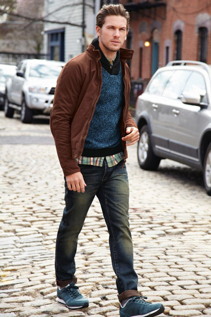 Next Rust Harrington Jacket | Mens fashion | Pinterest | Jackets and Rust