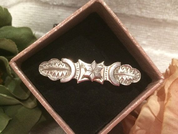 Amazing Antique Vintage VICTORIAN Sterling Silver Engraved