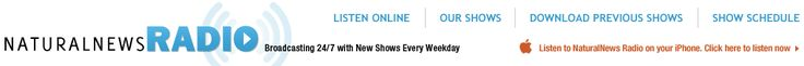 NaturalNews RADIO ... click on website to listen