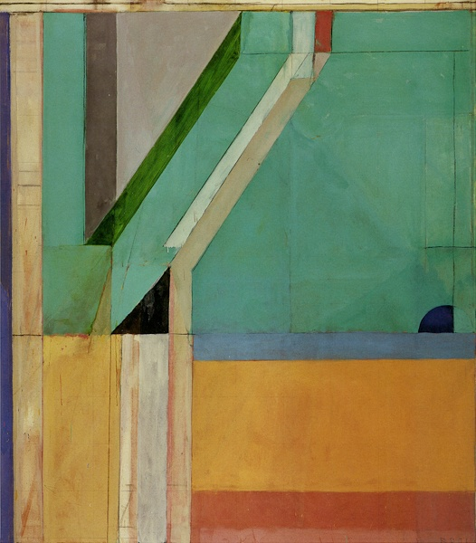 Richard Diebenkorn, Ocean Park No 40.