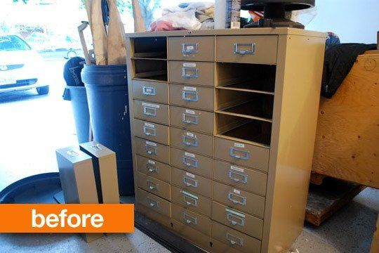 It's one of those things that nobody wants, but everybody needs in their home office. A utilitarian fireproof file cabinet is a must to keep your important documents safe and in order. But you don't have to settle for the metallic beige eyesores of your parents' den circa 1970.