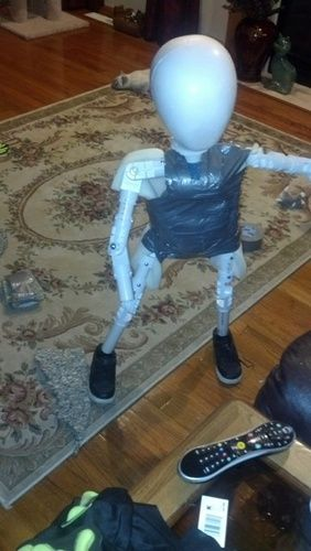 Halloween Forum member child body build.