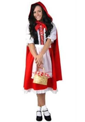 adult little red riding hood costume - Modest Womens Halloween Costumes