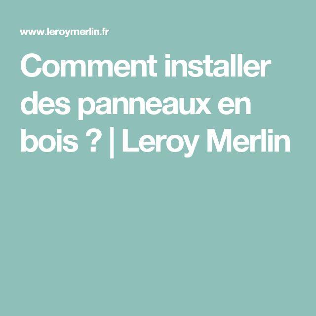 25 melhores ideias sobre bois leroy merlin no pinterest for Comment installer des plinthes en bois