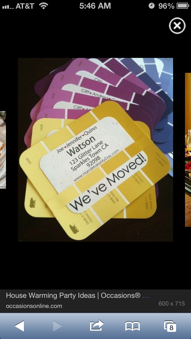 Housewarming invites for the new neighbors events for Creative housewarming party ideas