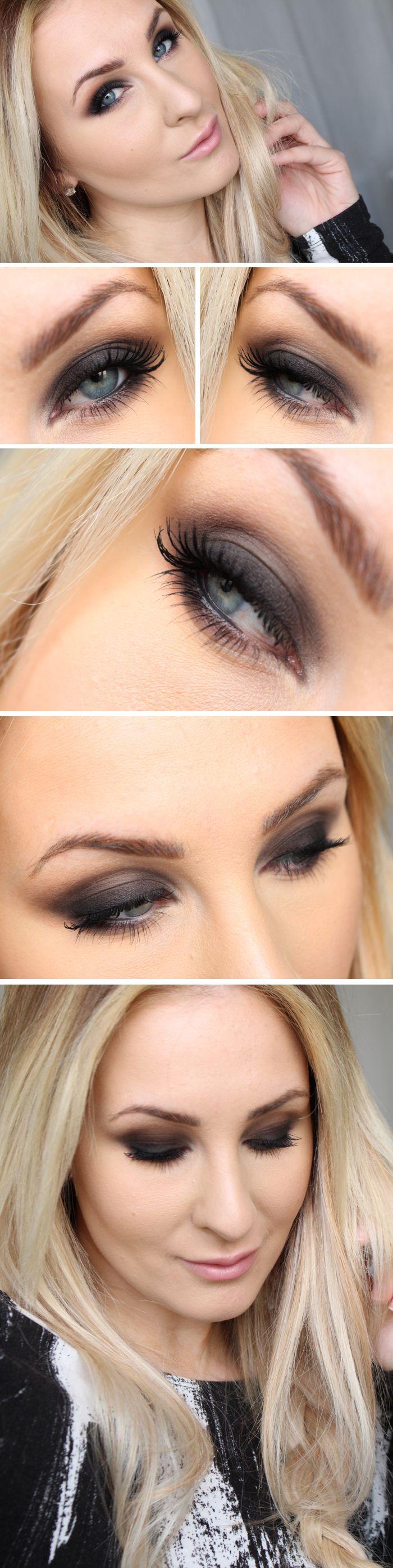 hiilen dagens makeup sotade ögon smokey eye hiilen sminkblogg skönhetsblogg