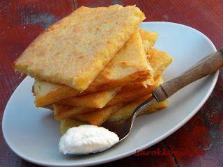 Sarokkonyha: Joghurtos krumplilepény