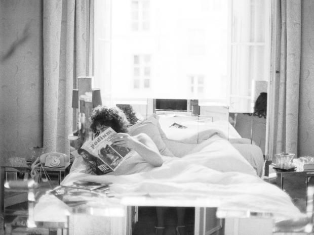 marc bolan makeup | Diary of a rock star: Marc Bolan in a previously unseen photograph ...