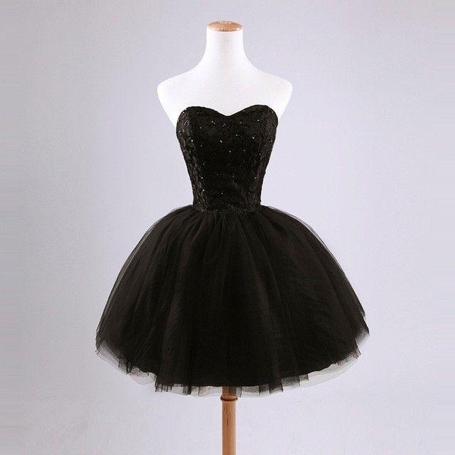 1000  ideas about Short Black Prom Dresses on Pinterest  Short ...