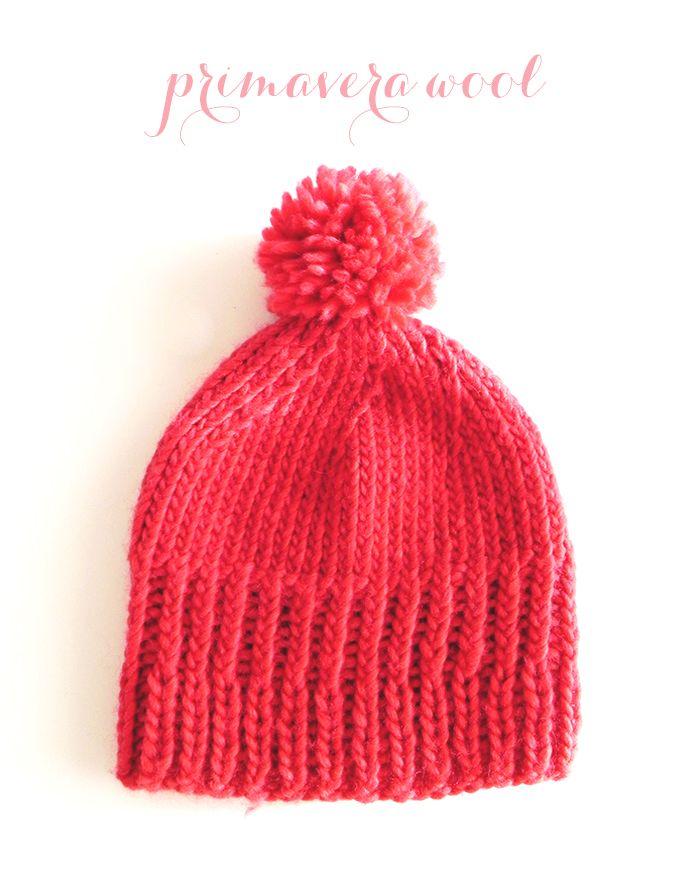 knit, pink, wool hat #knit #knitting #pink #wool #hat