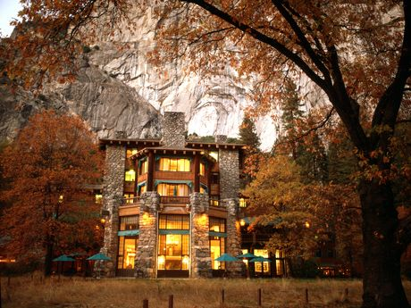 "You hear ""Yosemite"" and think ""roughing it."" A trek to The Ahwahnee will change your outlook. The award-winning California retreat has cushy rooms, rustic fireplaces, stained-glass windows, and public spaces as impressive as the surrounding natural wonders."