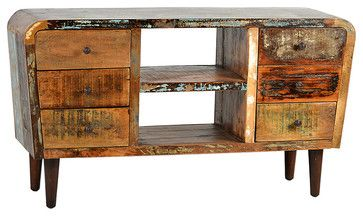 Mayes Sideboard, Dark Brown eclectic-buffets-and-sideboards