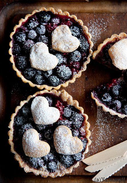 Triple Berries Tart