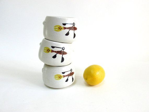 West Bend USA Ceramic Bowls for Baked Beans or by BubblyCreek, $12.00