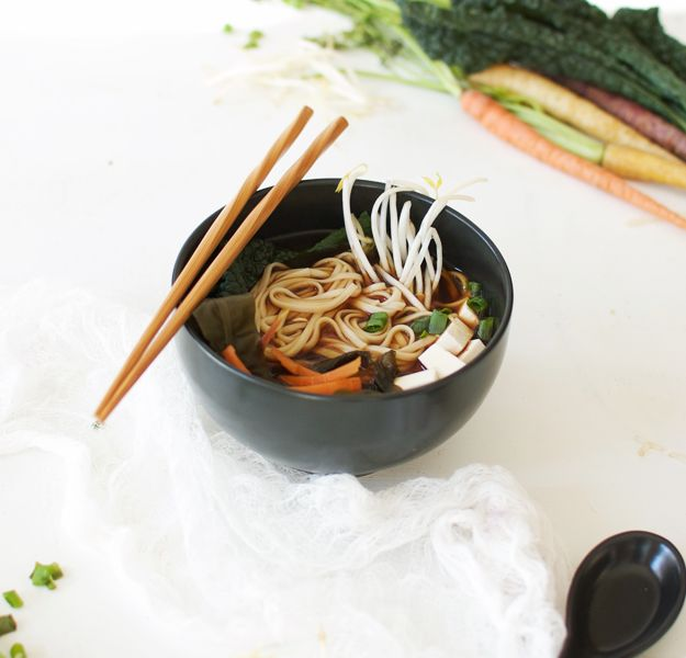 how to make udon noodle soup