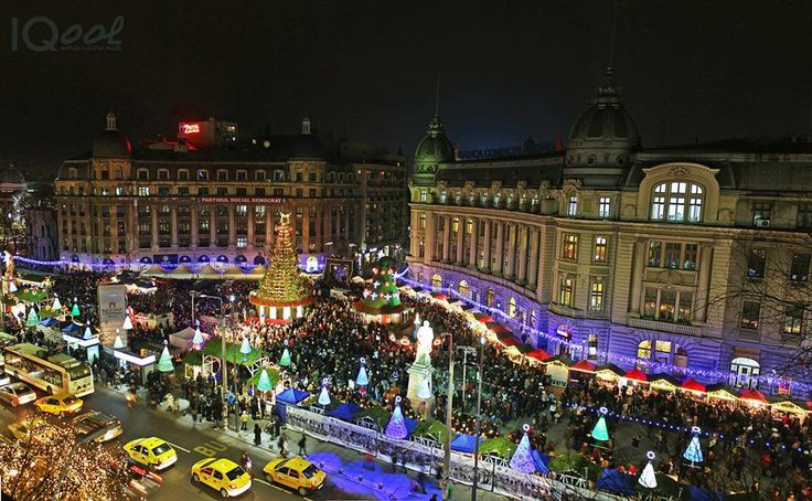 Bucharest Christmas lights Foto: Andreea Titianu
