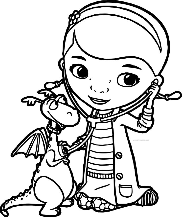doc mcstuffins christmas coloring pages - 1000 images about disney coloring pages on pinterest