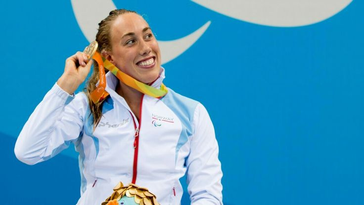 Rio's første norske gull; 100 m brystsvømming ved Sarah Louise Rung